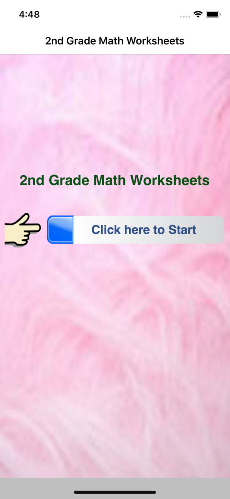 2nd Grade Math Worksheets App for iPhone,iPad and Android