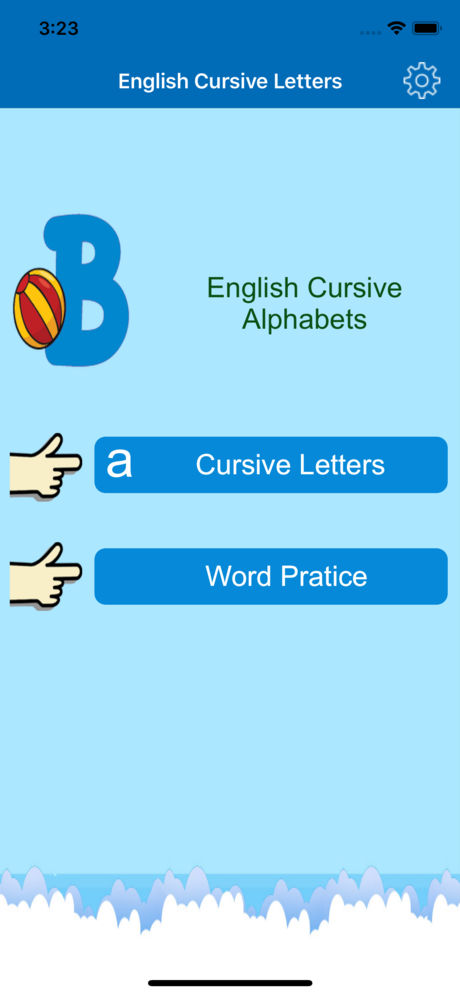 Cursive Letters and Alphabets App for iPhone,iPad and Android