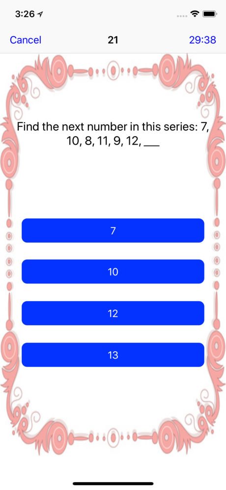 IQ Test for Kids App for iPhone,iPad