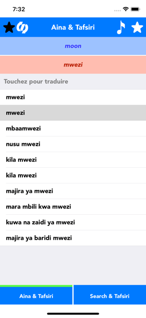 Swahili to English Translator for iPhone,iPad and Android